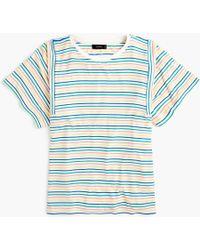 J.Crew - Mixed Stripe T-shirt - Lyst