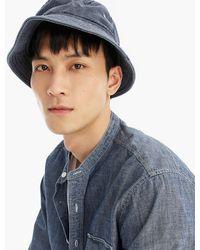 52827a16e2308 J.Crew - Always Garment-dyed Bucket Hat - Lyst