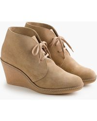 J.Crew - Macalister Wedge Boots - Lyst
