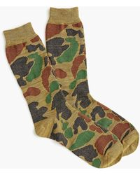 Anonymous Ism - True Camo Crew Socks - Lyst
