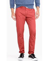 J.Crew - 484 Slim-fit Pant In Broken-in Chino - Lyst