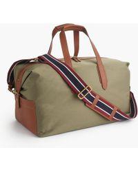 10d6a89069 J.Crew Belstaff® Colonial Travel Bag in Brown for Men - Lyst