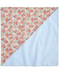 J.Crew - Reversible Bandana In Liberty Swirling Pearls Floral - Lyst
