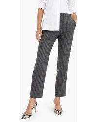 J.Crew - Pull-on Easy Pant In Wool - Lyst