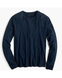 J.Crew - Mercantile Broken-in Long-sleeve T-shirt - Lyst