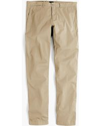 J.Crew - 484 Slim-fit Lightweight Garment-dyed Stretch Chino - Lyst