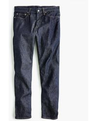 J.Crew - 1040 Athletic-fit Stretch Jean In Resin Rinse Japanese Denim - Lyst
