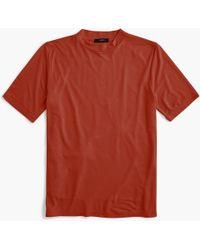 J.Crew - Mockneck T-shirt - Lyst