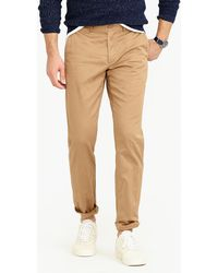 J.Crew - Stretch Chino Pant In 484 Slim Fit - Lyst
