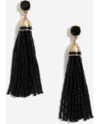 J.Crew - Beaded Tassel Earrings - Lyst