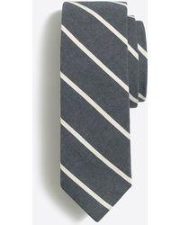J.Crew - Thin Stripe Tie - Lyst