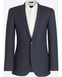 J.Crew - Slim Thompson Suit Jacket In Worsted Wool - Lyst