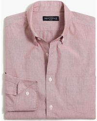 J.Crew - Solid Slim Flex Casual Shirt - Lyst