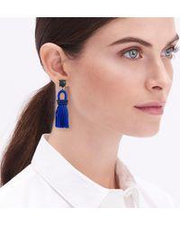 J.Crew - Tassel Earrings - Lyst