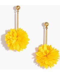 J.Crew - Blossom Drop Earrings - Lyst