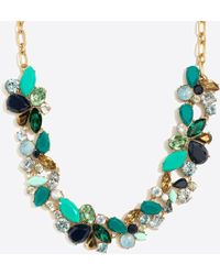 J.Crew - Mixed Stones Necklace - Lyst
