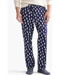J.Crew - Labrador Flannel Pajama Pant - Lyst