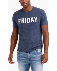J.Crew - Friday T-shirt - Lyst