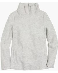 J.Crew - Fleece Pullover - Lyst