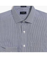 J.Crew - Thompson Classic-fit Flex Wrinkle-free Dress Shirt In Microgingham - Lyst