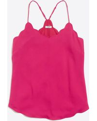 J.Crew - Scalloped Cami Top - Lyst