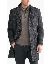 J.Crew - Wool Herringbone Topcoat - Lyst