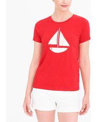 J.Crew - Sailboat Collector T-shirt - Lyst