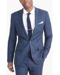 J.Crew - Thompson Suit Jacket In Glen Plaid Worsted Wool - Lyst