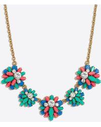 J.Crew - Gemstone Garden Fiesta Necklace - Lyst