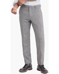 J.Crew - Slim-fit Thompson Suit Pant In Donegal Wool - Lyst