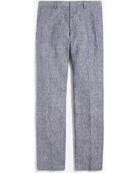 J.Crew - Slim-fit Thompson Suit Pant In Linen - Lyst