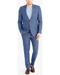 J.Crew - Slim Thompson Suit Jacket In Linen - Lyst