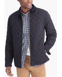J.Crew - Quilted Jacket - Lyst