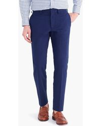 J.Crew - Bedford Dress Pant In Seersucker - Lyst