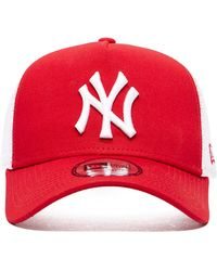 KTZ - Mlb New York Yankees Snapback Trucker Cap - Lyst
