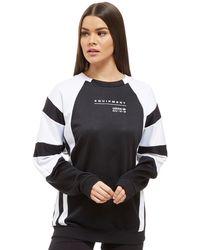 adidas Originals - Eqt Colourblock Crew Sweatshirt - Lyst