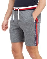 Tommy Hilfiger - Tech Terry Tape Shorts - Lyst