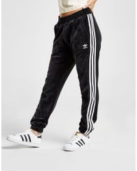 adidas Originals - 3-stripes Velvet Track Pants - Lyst