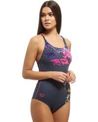Arena - Backwash Swimsuit - Lyst