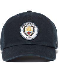 47 Brand - Manchester City Fc Cap - Lyst