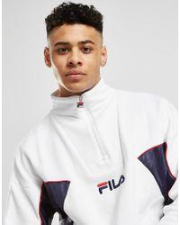 Fila - Lag Mono 1/2 Zip Sweatshirt - Lyst