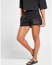Ivy Park - Shadow Logo Shorts Damen - Lyst