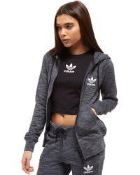 adidas Originals - Premium Spacedye Full Zip Hoodie - Lyst