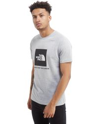 afcffa7d02 The North Face Redbox T-shirt in Black for Men - Lyst