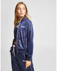 Fila - All Over Print Track Top - Lyst