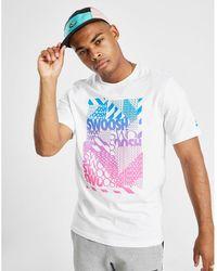 Nike - Swoosh Graphic T-shirt - Lyst