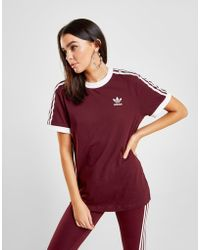 various colors 66f69 57231 adidas Originals - 3-stripes California T-shirt - Lyst