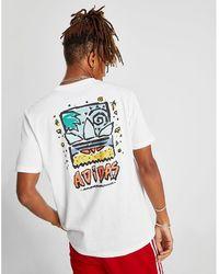 adidas Originals - Skateboarding Roanoke Short Sleeve T-shirt - Lyst