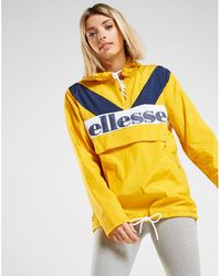 Ellesse - Panel 1/4 Zip Jacket - Lyst