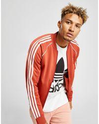 adidas Originals - Superstar Track Top - Lyst